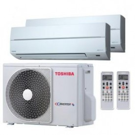 Мультисплит-система Toshiba RAS-M14GAV-E/RAS-M07SKV-E/RAS-M07SKV-E
