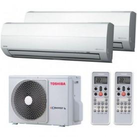 Мультисплит-система Toshiba RAS-M18UAV-E / RAS-M13SKV-E / RAS-M10SKV-E