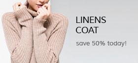 Linens coat